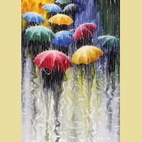 """Анонс!!! Набор алмазной живописи ИМПЕРИЯ БИСЕРА """"Цветные зонтики"""""""