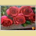 Алмазная вышивка камнями АЛМАЗНАЯ ЖИВОПИСЬ «Прекрасные розы»