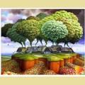Алмазная вышивка камнями АЛМАЗНАЯ ЖИВОПИСЬ «Сказочный мир»