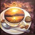 Алмазная вышивка камнями АЛМАЗНАЯ ЖИВОПИСЬ «Кофейное путешествие»