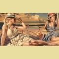 """Анонс!!! Набор алмазной живописи ИМПЕРИЯ БИСЕРА """"Красотки"""""""