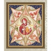 Набор алмазной вышивки АЛМАЗНАЯ ЖИВОПИСЬ «Семистрельная Богородица»