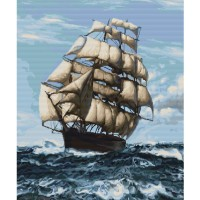 Набор для вышивания  Корабль