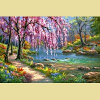 "Картина по номерам PAINTBOY ""Весна"""