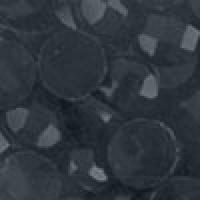 Акриловые стразы неклеевые круглые цв. 0310(0420) 10 гр. чёрный