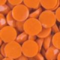 Акриловые стразы неклеевые круглые цв. 0720(0109) 10 гр. морковный