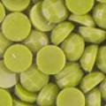 Акриловые стразы неклеевые круглые цв. 0832(0654) 10 гр. горчичн.