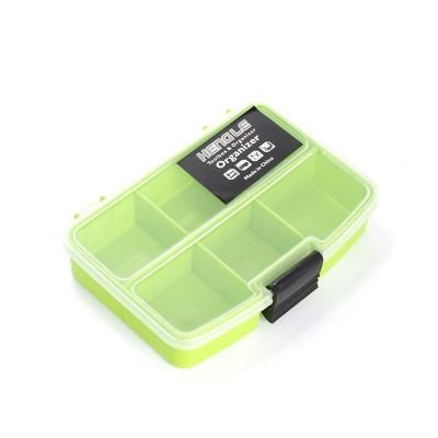 Контейнер для мелочей 2286 арт.КЛ21555 цв.зеленый 9х13см