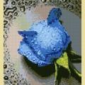 """Набор алмазной вышивки АЛМАЗНАЯ ЖИВОПИСЬ """"Синяя роза"""""""