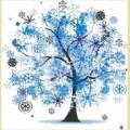 """Набор алмазной вышивки АЛМАЗНАЯ ЖИВОПИСЬ """"Новогоднее дерево"""""""