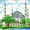 """Набор алмазной вышивки АЛМАЗНАЯ ЖИВОПИСЬ """"Мечеть"""""""