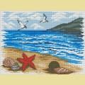 Набор алмазной вышивки  АЛМАЗНАЯ ЖИВОПИСЬ «Морской берег»