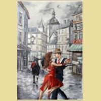 Набор алмазной вышивки АЛМАЗНАЯ ЖИВОПИСЬ «Танго в городе»