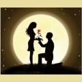 Набор алмазной вышивки АЛМАЗНАЯ ЖИВОПИСЬ «Ночная романтика»