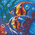 Набор алмазной вышивки АЛМАЗНАЯ ЖИВОПИСЬ «Обитатели рифа»