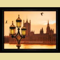 """Набор картины со стразами ЧАРИВНА МИТЬ  """"Вечерний Лондон"""""""
