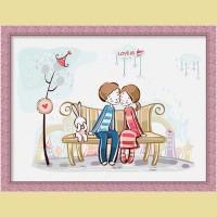 """Картина по номерам COLOR KIT """"Love"""""""