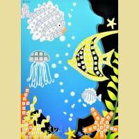 """Мозаика - стикеры COLOR KIT """"Подводный мир"""""""