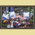 "Картина со стразами COLOR KIT ""В саду"""