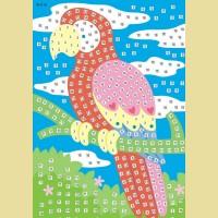 """Мозаика - стикеры COLOR KIT """"Попугай"""""""