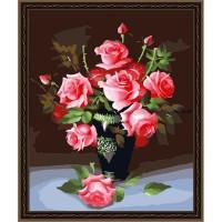 "Картина по номерам COLOR KIT ""Букет роз"""