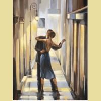 Набор алмазной вышивки АЛМАЗНАЯ ЖИВОПИСЬ «Танец в переулке»