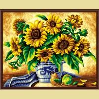 "Картина по номерам COLOR KIT ""Букет подсолнухов"""