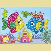 """Мозаика - стикеры COLOR KIT """"Рыбки"""""""