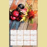 """Алмазная картина-календарь COLOR KIT """"Осенний натюрморт"""""""