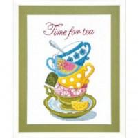 Набор для вышивания Time for tea