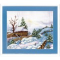 Набор для вышивания Теплая зима