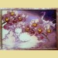 """Набор алмазной живописи ИМПЕРИЯ БИСЕРА """"Орхидеи в воде"""""""