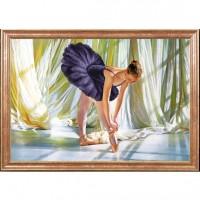 Схема для вышивания  Балерина
