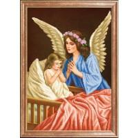 Схема для вышивания  Ангел хранитель