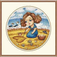 "Набор для вышивания крестом ОВЕН ""Алиса на море"""