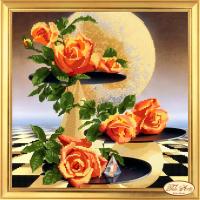 """Набор для вышивания бисером ТЭЛА АРТИС """"Лунные розы"""""""