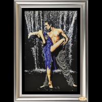 """Набор для вышивания бисером и раскладки страз ТЭЛА АРТИС """"Страстные танцы 3"""""""