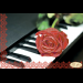 """Схема для вышивания бисером ТЭЛА АРТИС """"Пианино и роза"""""""