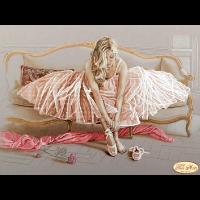 """Схема для вышивания бисером ТЭЛА АРТИС """"Балерина 2"""""""