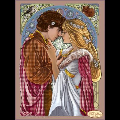 """Схема для вышивания бисером ТЭЛА АРТИС """"Ромео и Джульетта"""""""