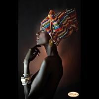 """Схема для вышивания бисером ТЭЛА АРТИС """"Африканка"""""""