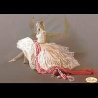 """Схема для вышивания бисером ТЭЛА АРТИС """"Балерина"""""""
