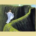 Набор алмазной вышивки  АЛМАЗНАЯ ЖИВОПИСЬ «Зеленый лабиринт»