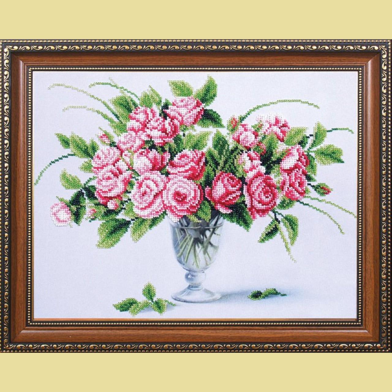 Вышивка бисером розы наборы 85
