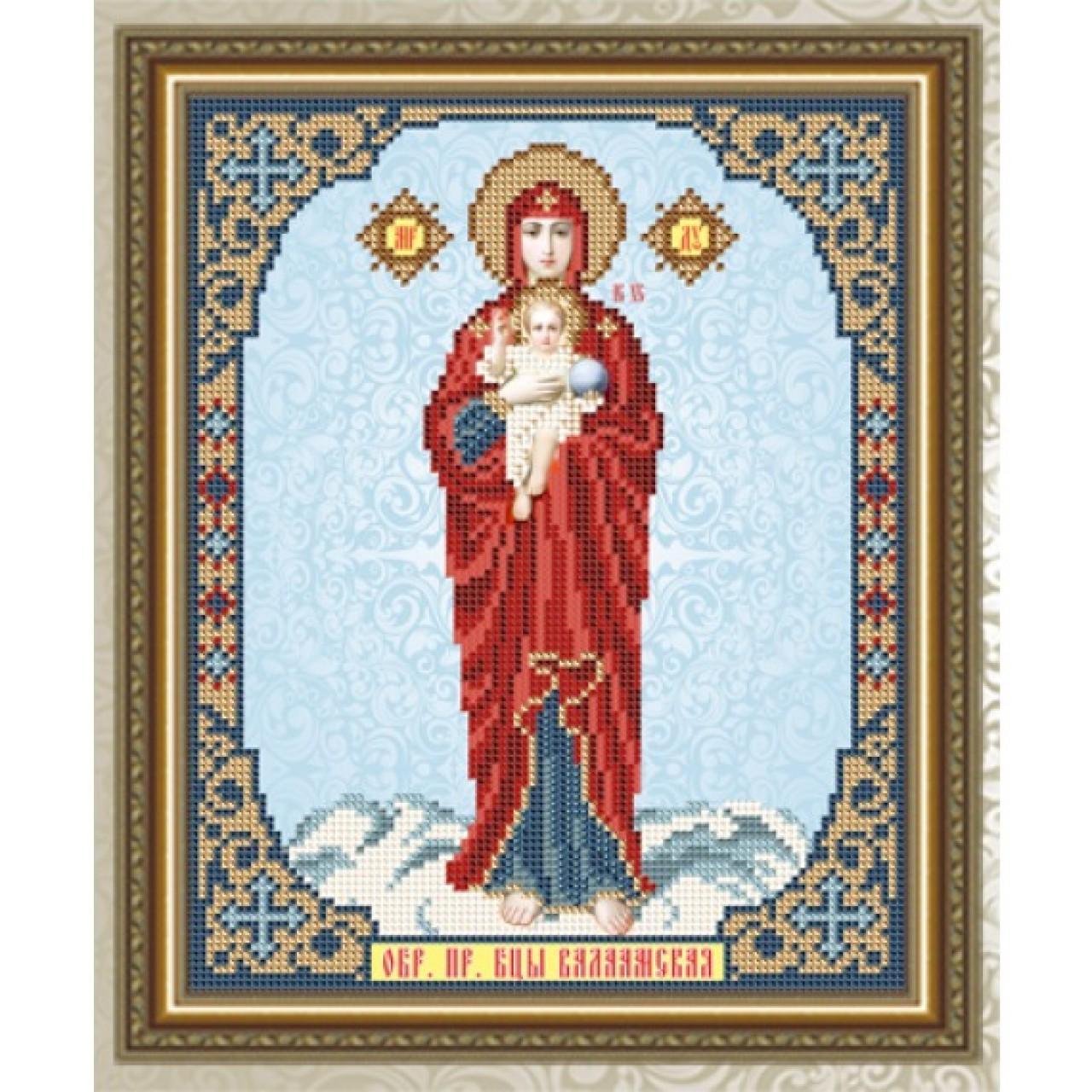 Икона бисером валаамская икон