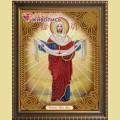 Набор алмазной вышивки  АЛМАЗНАЯ ЖИВОПИСЬ «Икона Покров Пресвятой Богородицы»