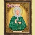 Набор алмазной вышивки АЛМАЗНАЯ ЖИВОПИСЬ «Икона Матрона Московская»