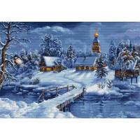 Набор для вышивания  Зимний пейзаж