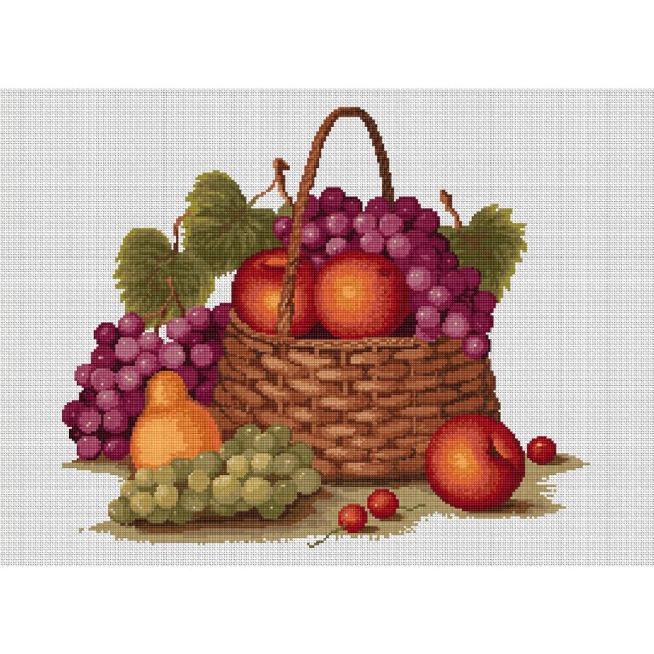 Вышивка яблоки примета