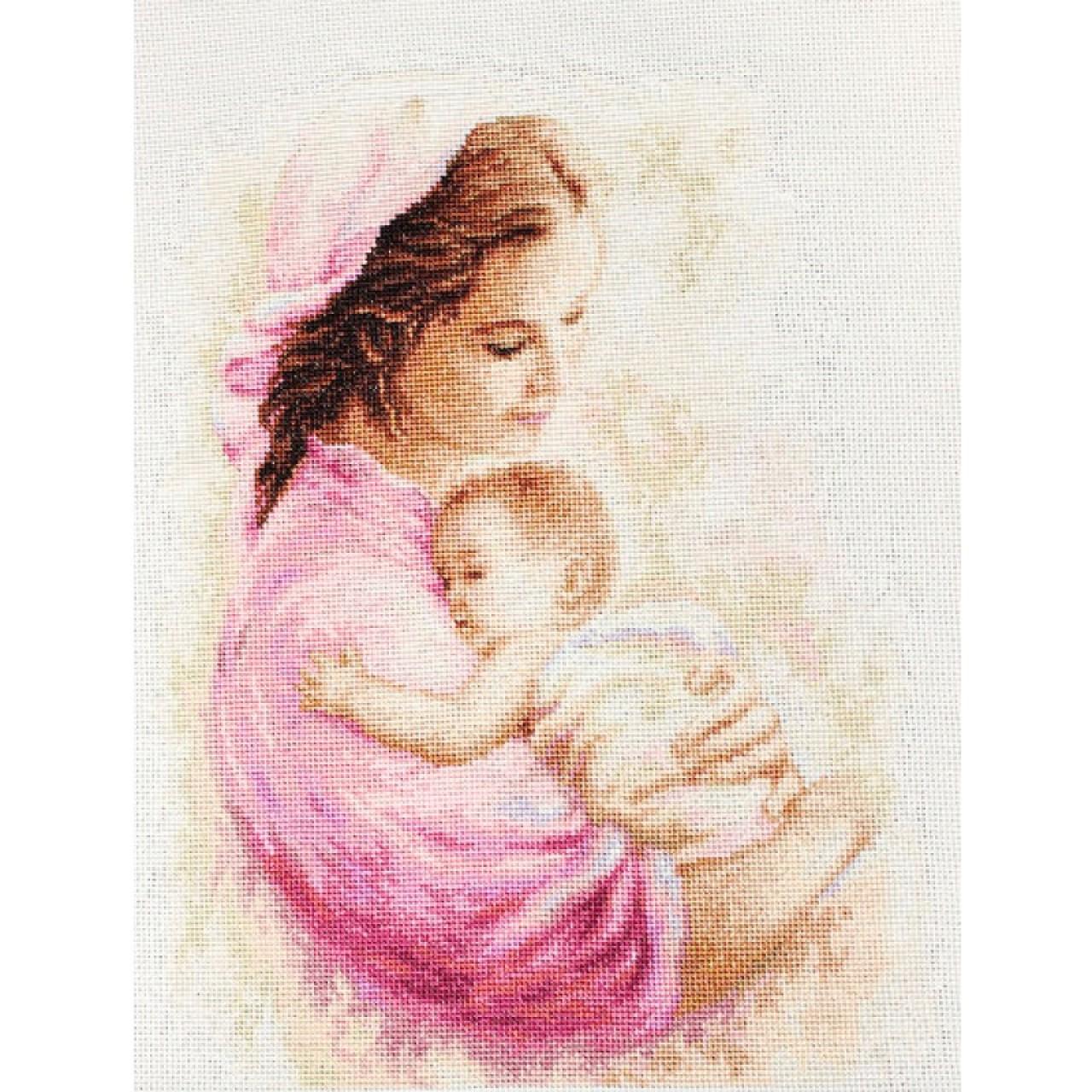 Мать и дитя вышивка лукас 57